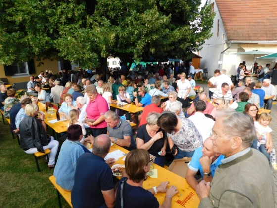Kapellenfest in Grötsch